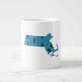 Massachusetts Home State 20 Oz Large Ceramic Coffee Mug