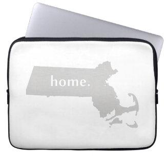 Massachusetts Home State Laptop Computer Sleeve