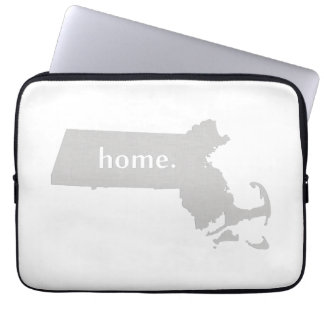 Massachusetts Home State Laptop Sleeve