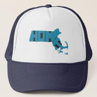 Massachusetts Home State Trucker Hat