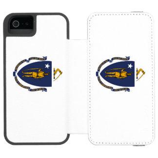 Massachusetts iPhone SE/5/5s Wallet Case