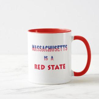 Massachusetts is a Red State Mug