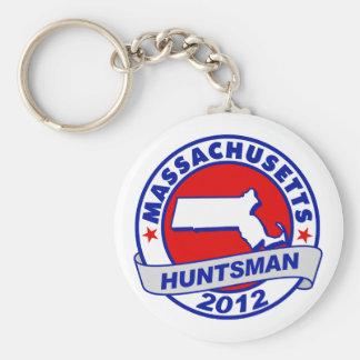 Massachusetts Jon Huntsman Key Chains