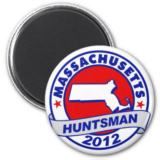 Massachusetts Jon Huntsman Fridge Magnets