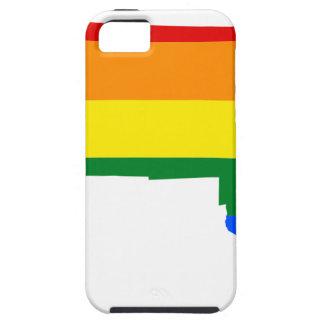 Massachusetts LGBT Flag Map iPhone SE/5/5s Case