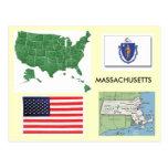 Massachusetts, los E.E.U.U. Tarjeta Postal