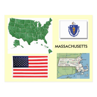 Massachusetts, los E.E.U.U. Tarjetas Postales