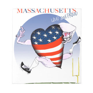 massachusetts loud and proud, tony fernandes notepad