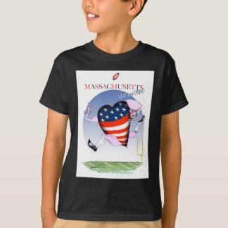 massachusetts loud and proud, tony fernandes T-Shirt