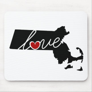 Massachusetts Love!  Gifts for MA Lovers Mouse Pad