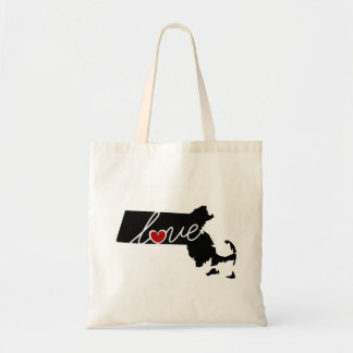 Massachusetts Love!  Gifts for MA Lovers Tote Bag