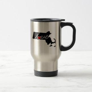 Massachusetts Love!  Gifts for MA Lovers Travel Mug