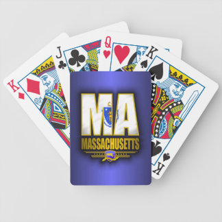 Massachusetts (MA) Bicycle Playing Cards