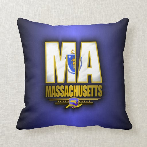 Massachusetts (MA) Cojin