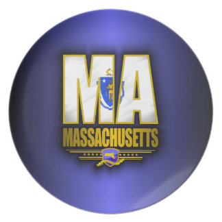 Massachusetts (MA) Plate