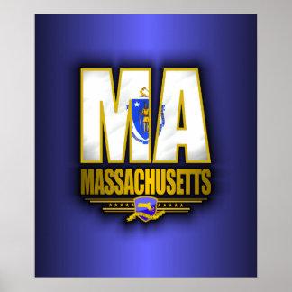 Massachusetts (MA) Poster