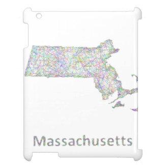 Massachusetts map case for the iPad