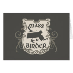 "Massachusetts ""Mass"" Birder Card"
