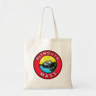 Massachusetts Massachusetts de Plymouth de la Bolsas Lienzo
