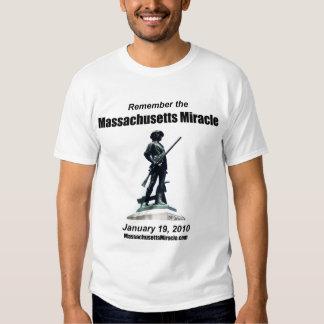 Massachusetts Miracle Tee Shirt
