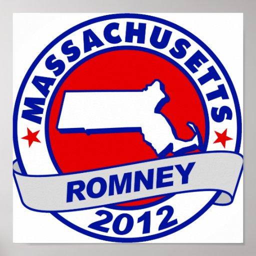Massachusetts Mitt Romney Impresiones