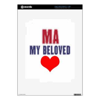 Massachusetts my beloved iPad 2 decals