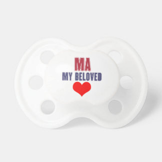 Massachusetts my beloved pacifier