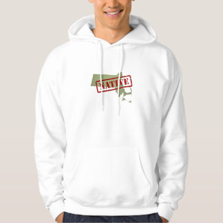 Massachusetts Native with Massachusetts Map Hoodie