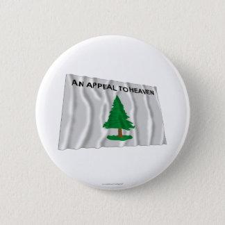 Massachusetts Navy Flag Button