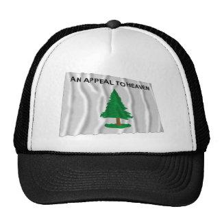 Massachusetts Navy Flag Trucker Hat