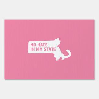 Massachusetts: Ningún odio en mi estado