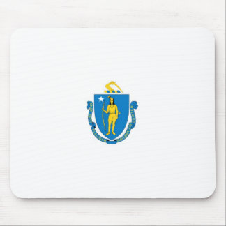 Massachusetts Official State Flag Mouse Pad