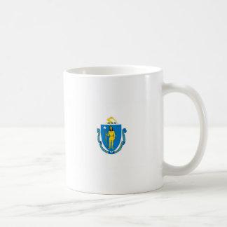 Massachusetts Official State Flag Classic White Coffee Mug