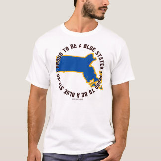 Massachusetts: ¡Orgulloso ser una camiseta azul de