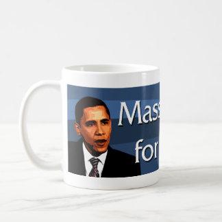 Massachusetts para Obama Taza