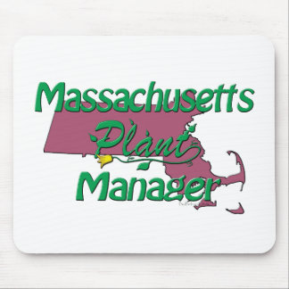 Massachusetts Plant Manager Mouse Pad