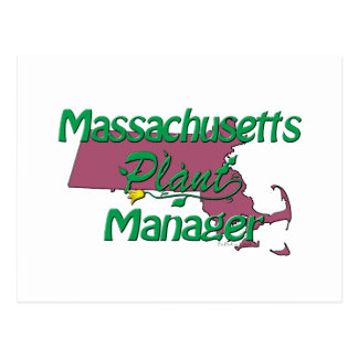 Massachusetts Plant Manager Postcard