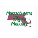 Massachusetts Plant Manager Postcards