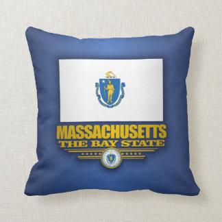 Massachusetts Pride Throw Pillow