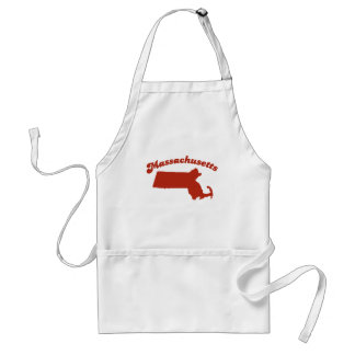 MASSACHUSETTS Red State Adult Apron