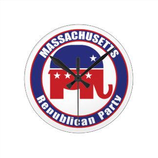 Massachusetts Republican Party Wallclock