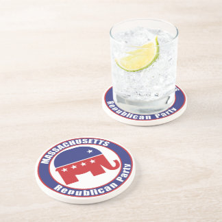 Massachusetts Republican Party Coasters