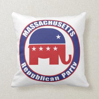 Massachusetts Republican Party Pillow