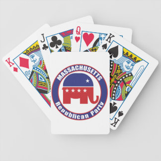 Massachusetts Republican Party Playing Cards