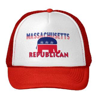 Massachusetts Republican Trucker Hat