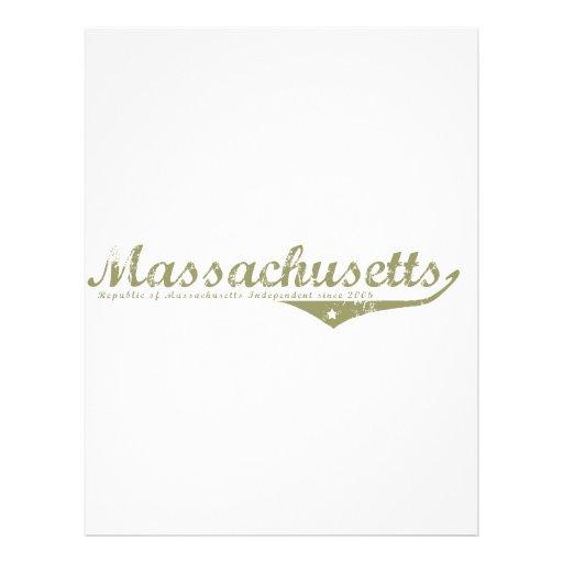Massachusetts Revolution T-shirts Letterhead