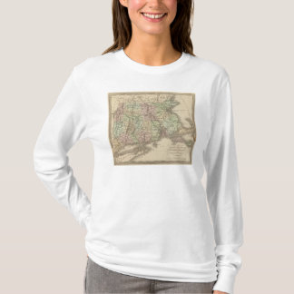 Massachusetts, Rhode Island, and Connecticut T-Shirt