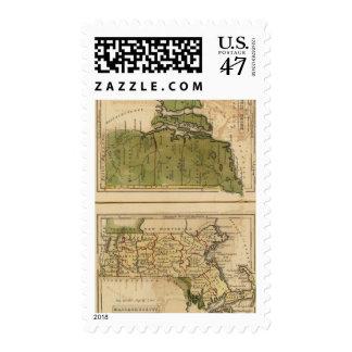 Massachusetts, Rhode Island Postage