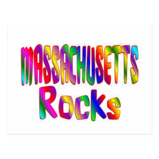 Massachusetts Rocks Postcard