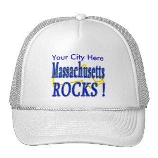 Massachusetts Rocks ! Trucker Hat
